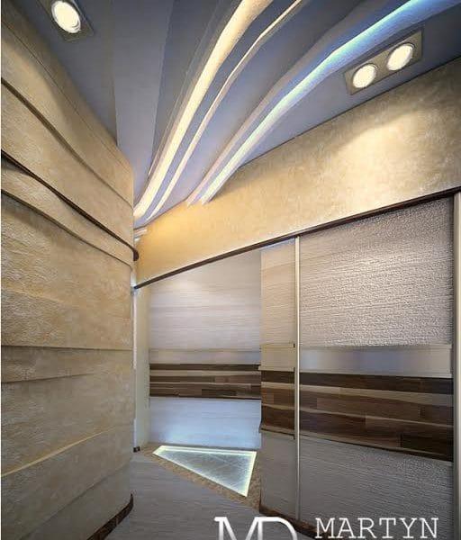 Интерьер коридора в двушке