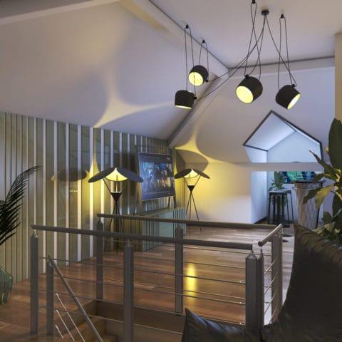 Дизайн проект двухэтажного дома