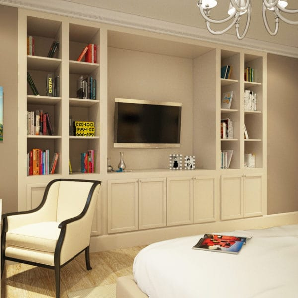 Дизайн проект двукомнатной квартиры 65 м2