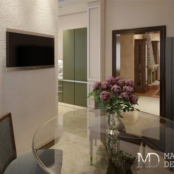 Дизайн проект интерьера в частном доме