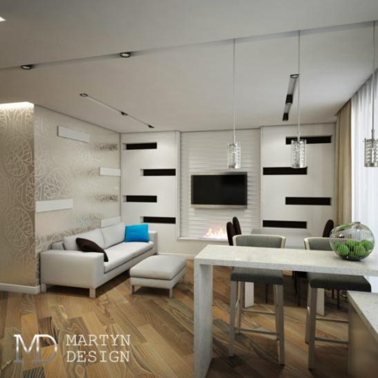 Дизайн проект квартиры для холостяка