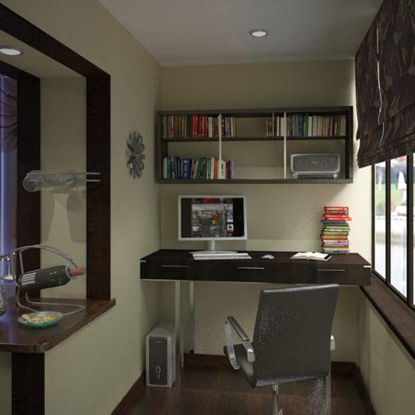 Дизайн в панельной квартире