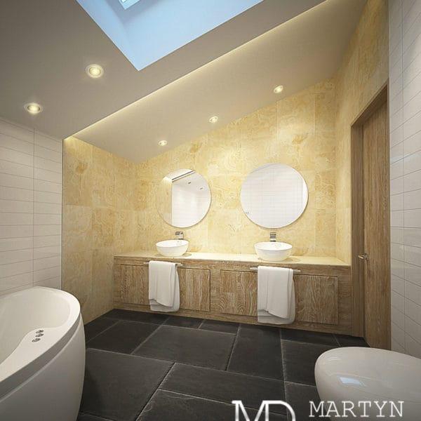Дизайн ванной комнаты в двушке
