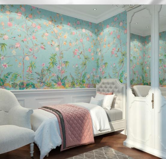 Интерьер детской комнаты для девочки в стиле прованс