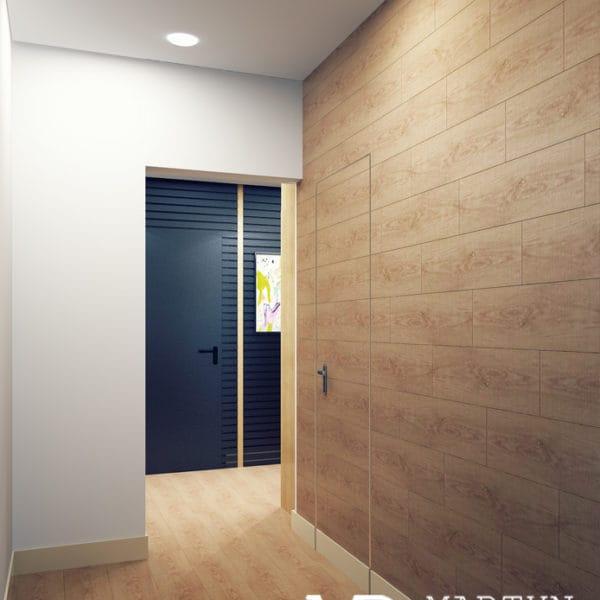 Дизайн проект коридора в двухкомнатной квартире