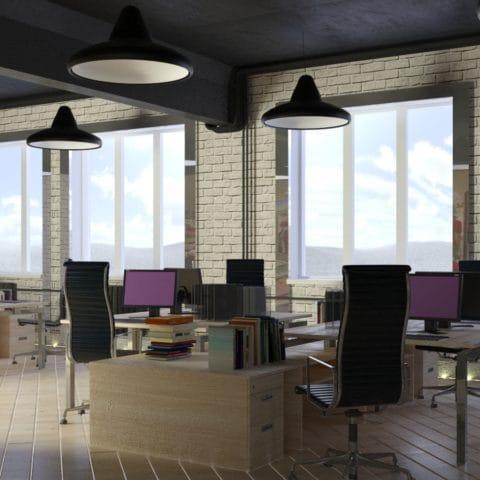 Дизайн проект рабочих мест в офисе