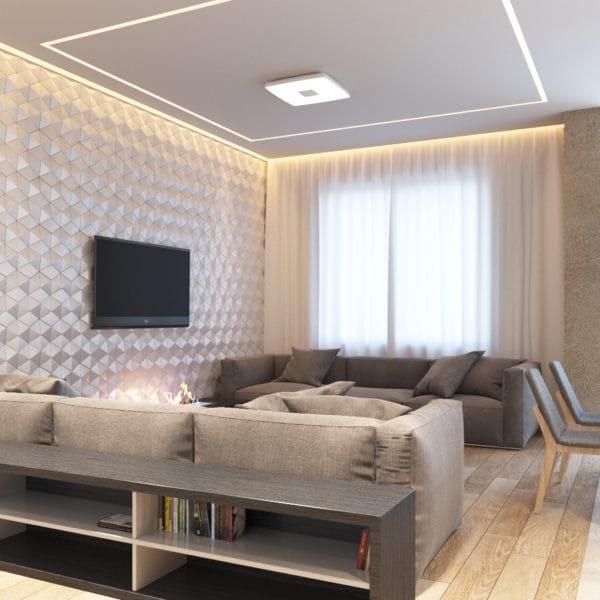 Дизайн интерьера трехкомнатной хрущевки в современном стиле