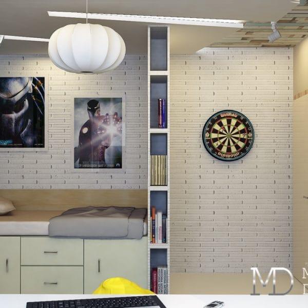 Дизайн 2 комнатной квартиры в доме серии п44т