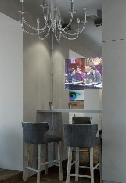 Дизайн двухкомнатной квартиры 45 кв м