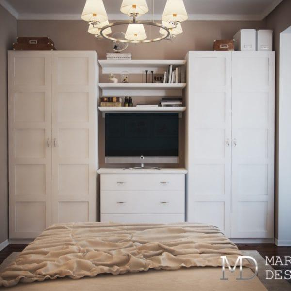 Дизайн 2 комнатной квартиры размером 70 м