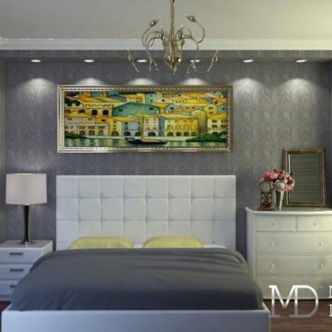 Дизайн проект двухкомнатной квартиры в современном стиле