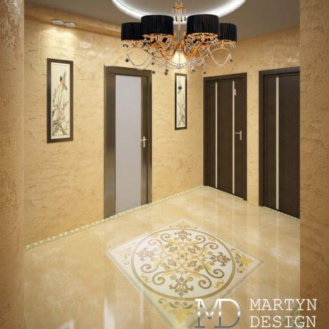 дизайн коридора в панельном доме