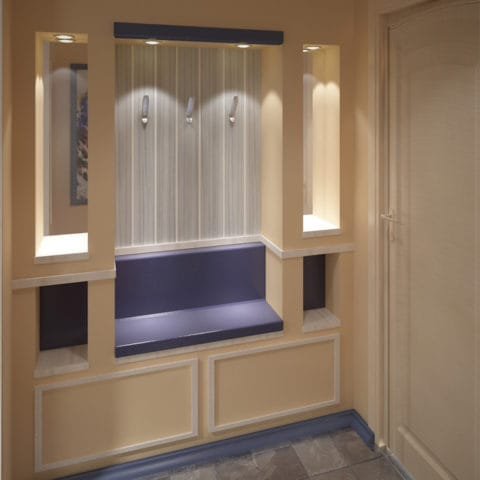 Дизайн интерьера однокомнатной квартиры 30 квадратных метров