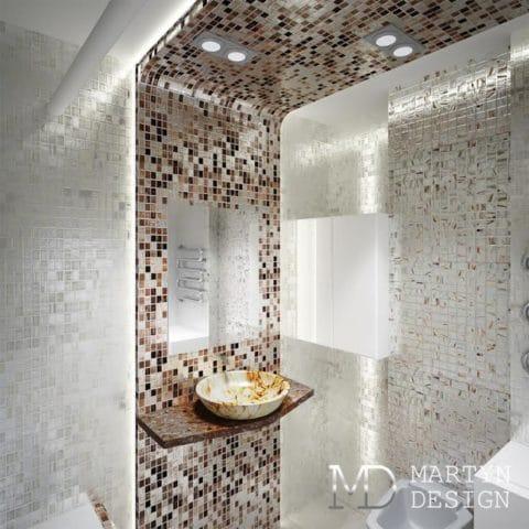 Дизайн интерьера однокомнатной квартиры размером 35 квадратных метра