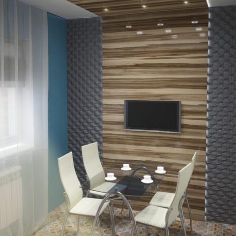 Дизайн однокомнатной квартиры в хрущевской планировке