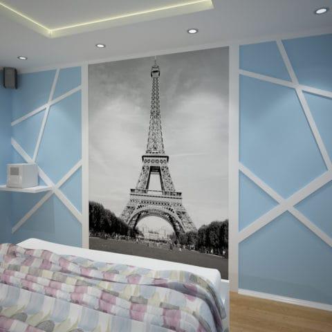 Дизайн проект однокомнатной квартиры в доме серии п44т