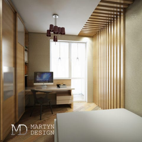 дизайн проект интерьера 4 комнатной квартиры в панельном доме