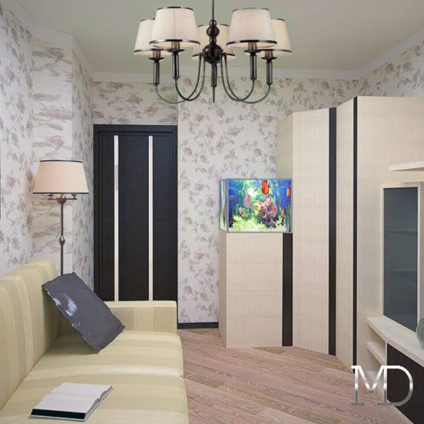 дизайн проект трехкомнатной квартиры в панельном доме