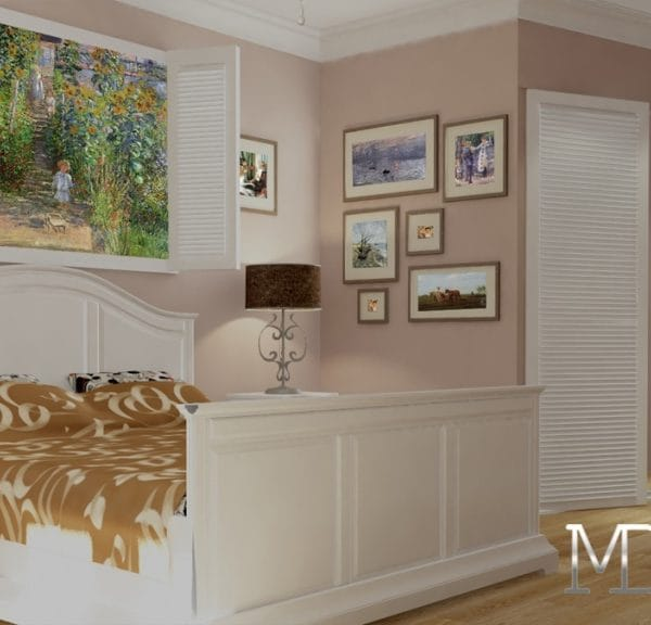 дизайн спальни в трешке 75 м2