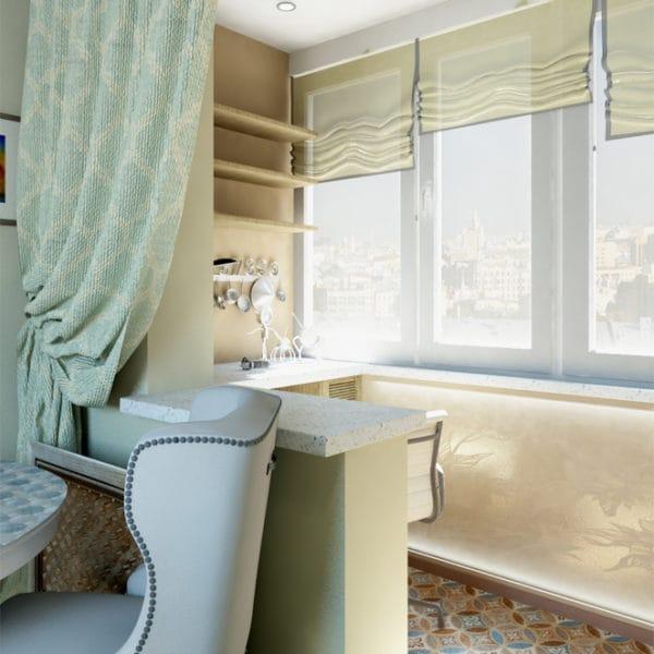 дизайн трехкомнатной квартиры 75 м2