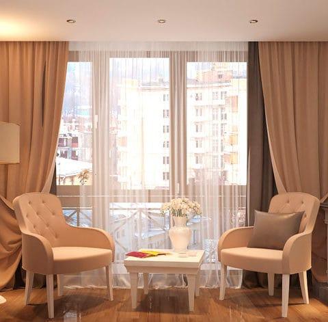 дизайн трехкомнатной квартиры 85 м2