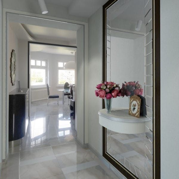 Дизайн коридора в частном доме