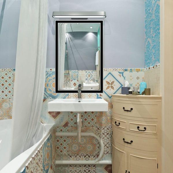 дизайн ванной в стиле печворк