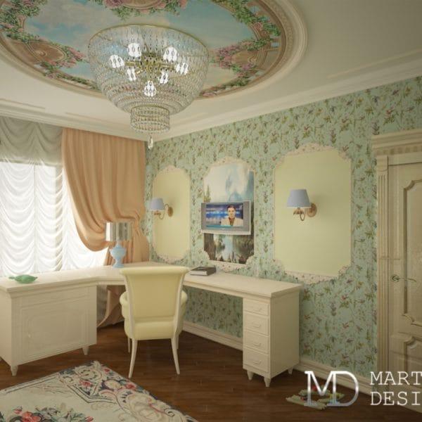 Дизайн проект доме в классическом стиле