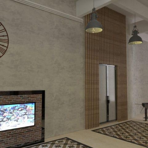 Дизайн проект интерьера бизнес-центра