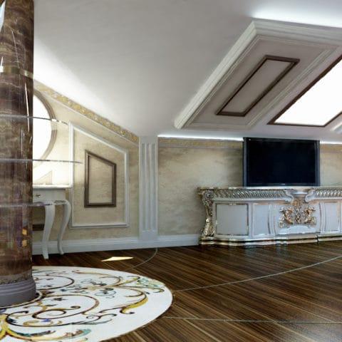 Дизайн 3 этажа загородного дома