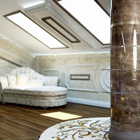 Дизайн проект 3 этажа в частном доме