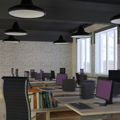 Дизайн рабочих мест в офисе