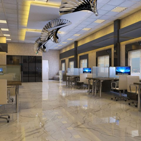 Дизайн проект офисных помещений