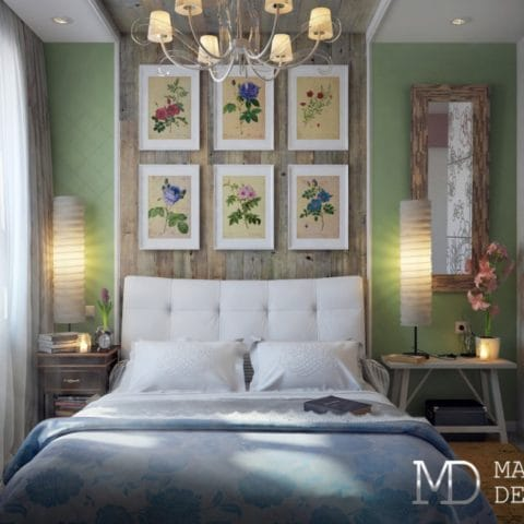 Дизайн проект спальни