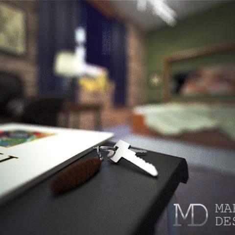 Фото квартиры студии в стиле лофт