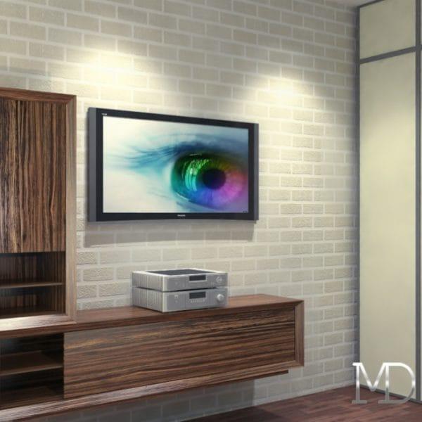 Современный и оригинальный дизайн двухкомнатной квартиры
