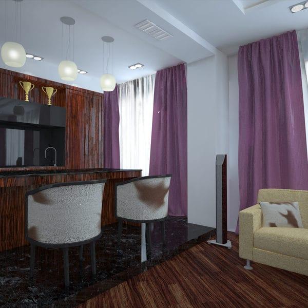 Дизайн однокомнатной квартиры 40 кв метров в современном стиле