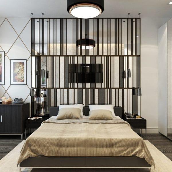 Дизайн трехкомнатной квартиры КОПЭ в сдержанной стилистике