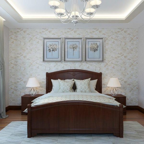 Дизайн проект спальни в загородном доме