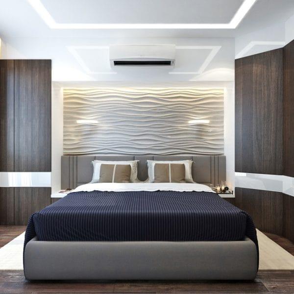 Дизайн 3 комнатной квартиры 70 кв. м в лаконичном и сдержанном стиле