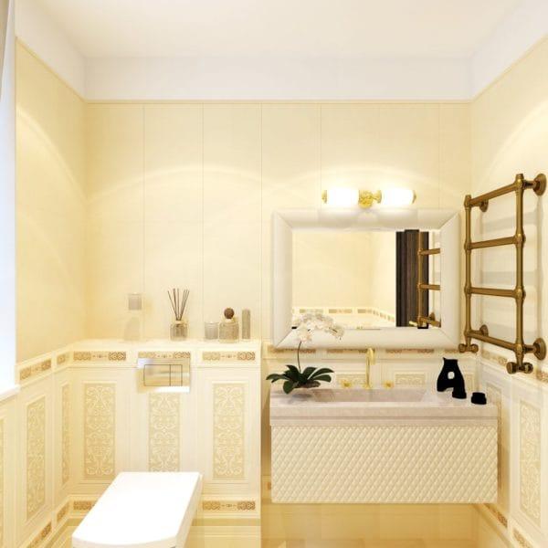Дизайн санузла в частном доме