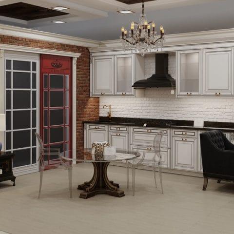 Дизайн - кухня столовая