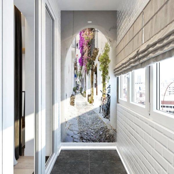 Интерьер коридора в двухкомнатной квартире