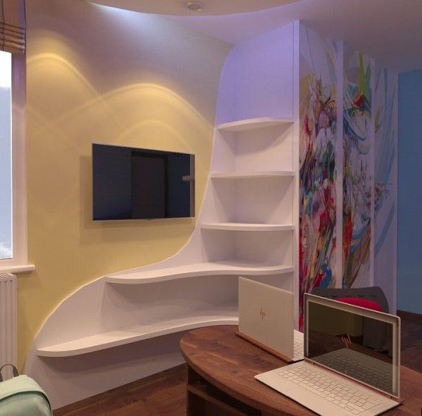 Дизайн малогабаритной трехкомнатной квартиры 60 кв м