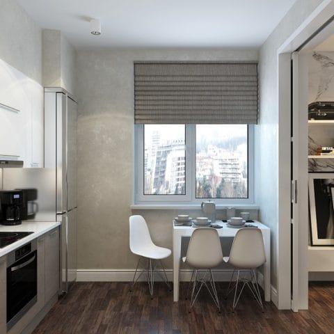 Дизайн проект кухни в современном стиле
