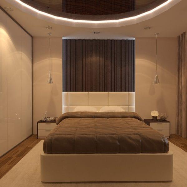 Дизанй спальни в 3 комнатной квартире
