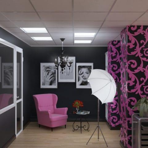 Дизайн проект в маникюрном салоне