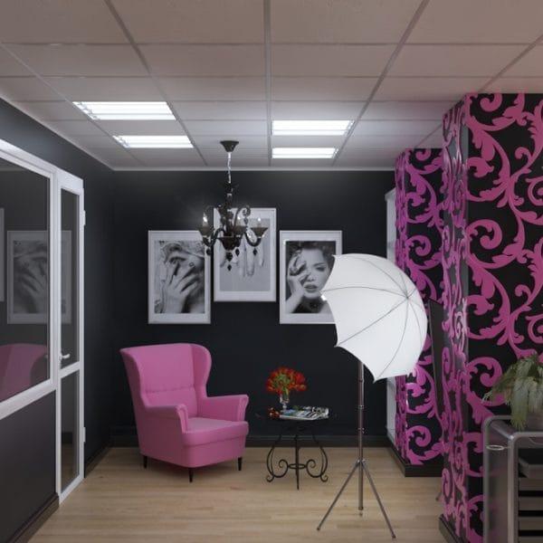 Дизайн интерьера маникюрного салона Alternativa nails