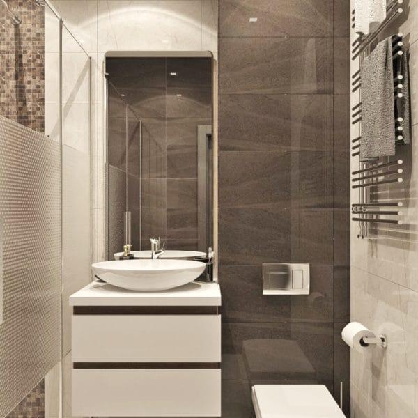 Ванная в доме серии КОПЭ