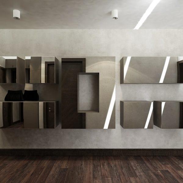 дизайн 3 комнатной квартиры 70 м2